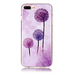 Για iPhone X iPhone 8 Θήκες Καλύμματα Εξαιρετικά λεπτή Με σχέδια Πίσω Κάλυμμα tok Πικραλίδα Μαλακή TPU για Apple iPhone X iPhone 8 Plus