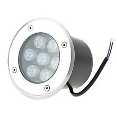 voordelige Buitenverlichting-1pcs hkv® 7w ip67 geleid ondergrondse lichtlamp waterdicht hoogvermogen gehard glas buiten tuin vierkant landschap dc 12v
