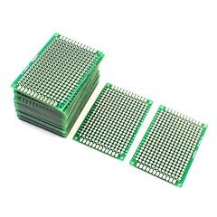 お買い得  アクセサリー-10pcs両面protoboardプロトタイピング基板4cm x 6cm