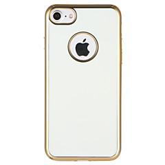Недорогие Кейсы для iPhone 7-Кейс для Назначение Apple iPhone 7 Защита от удара Покрытие Кейс на заднюю панель Сплошной цвет Мягкий ТПУ для iPhone 7 Plus iPhone 7