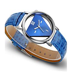 voordelige Dameshorloges-Dames Modieus horloge Kwarts PU Band Zwart Wit Blauw Rood
