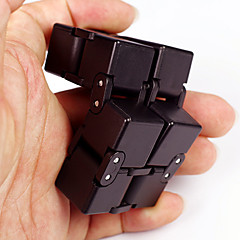 Infinity Cubes Fidget Toys Magic Cube Stress Relievers Toys Square Novelty 3D Plastic Pieces Children's Adults' Gift