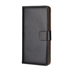 Недорогие Кейсы для Huawei других серий-Кейс для Назначение Huawei Бумажник для карт Кошелек со стендом Флип Чехол Сплошной цвет Твердый Кожа PU для Nova 2 Plus Huawei