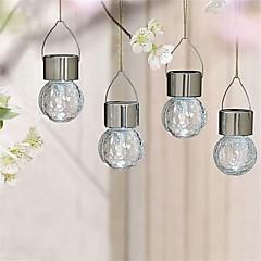 billiga Originella LED-lampor-4PCS 1.5W 0.5W LED-strålkastare Dekorativ Dekorativa bröllops-scener Semester Nyår Jul Halloween Heminredning Juldekor favör Bröllopsfest