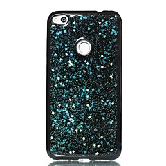 cheap Huawei P Series Cases / Covers-Case For Huawei P10 Lite Pattern Back Cover Glitter Shine Soft TPU for Huawei P10 Lite Huawei P9 Lite Huawei P8 Lite Huawei P8 Lite (2017)