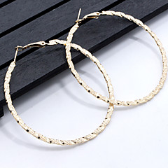 preiswerte Ohrringe-Damen Geometrisch Kreolen - Geometrisch, Klassisch Gold Für Alltag / Normal