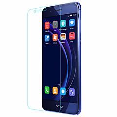 voordelige Screenprotectors voor Huawei-Screenprotector Huawei voor Honor 8 Gehard Glas 1 stuks Voorkant screenprotector 2.5D gebogen rand 9H-hardheid High-Definition (HD)