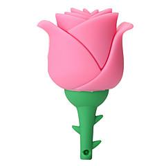 disco creativo del disco di disco di azionamento dell'istantaneo del usb 2.0 del fiore dentellare di alta velocità del silicone creativo