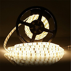 18W Flexibele LED-verlichtingsstrips 7500 DC12 5m 300 leds Warm Wit Wit
