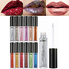 abordables brillo de labios-1 unids brillo de diamante brillo de labios brillante sombra de ojos polvo brillo lentejuelas lentejuela labio y ojo pigmento líquido