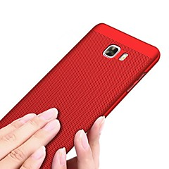 Case Kompatibilitás Samsung Galaxy Jeges Hátlap Tömör szín Kemény PC mert J7 (2016) J7 Prime J7 J5 (2016) J5 Prime J5 J3 (2016) J2 J2