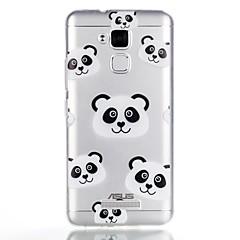 Maska Pentru Asus Model Carcasă Spate Desene Animate Panda Moale TPU pentru Asus Zenfone 3 Max ZC520TL