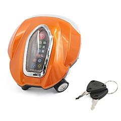 оранжевый пластиковый корпус белый 4 светодиодные фары сборка w ключи для мотоцикла