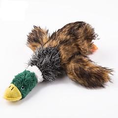 لعبة للكلب ألعاب الحيوانات الأليفة لعب رقيق ألعاب الصرير صرير بطة قماش للحيوانات الأليفة