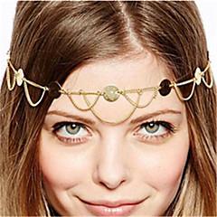 Недорогие Женские украшения-Жен. Старинный Богемный Цепочка на голову Сплав