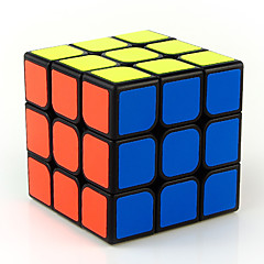 cheap Magic Cubes-Rubik's Cube 3*3*3 Smooth Speed Cube Magic Cube Stress Relievers Educational Toy Puzzle Cube Smooth Sticker Engineering Plastics Square