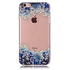 Назначение iPhone X iPhone 8 Чехлы панели Ультратонкий Прозрачный С узором Задняя крышка Кейс для Пейзаж Мягкий Термопластик для Apple