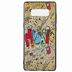 Кейс для Назначение С узором Задняя крышка Мультипликация Мягкий TPU для Note 8 Note 5 Edge Note 5 Note 4 Note 3 Lite Note 3 Note 2 Note