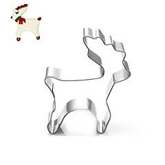 weihnachten deer cookies cutter edelstahl keks kuchenform fondant backenwerkzeuge
