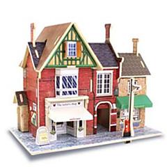 Puzzle 3D Jucarii Arhitectură Case 1 Bucăți
