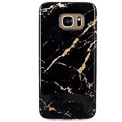 billige Galaxy S4 Mini Etuier-Etui Til Mønster Bagcover Marmor Blødt TPU for S8 S8 Plus S7 edge S7 S6 edge plus S6 edge S6 S6 Active S5 Mini S5 Active S5 S4 Mini S4
