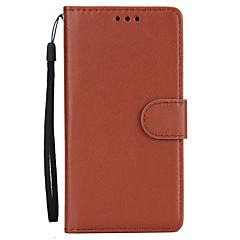 para capa de capa porta-carteira com suporte flip caso corpo completo cor sólida pu couro duro para oneplus one plus 5
