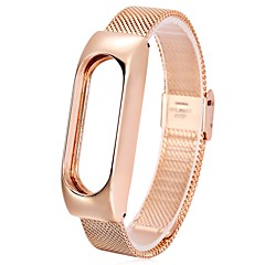 Milanese Strap  Multiple Accessories for Xiaomi Miband 2 - ROSE GOLD