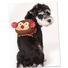 tanie Obroże, uprzęże i smycze dla psów-Pies Szelki Przenośny Rysunek Materiał Coffee