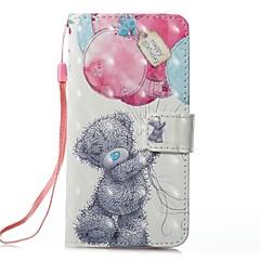 для футляра держатель карты кошелек с подставкой флип магнитный узор полный корпус корпус шар шарф твердая кожа pu для яблока iphone x