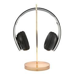 evrensel kulaklık standı akrilik bazlı kulaklık tutacağı profesyonel ekran rafı kulaklık askısı tutucu altın için oyun sergi merkezi