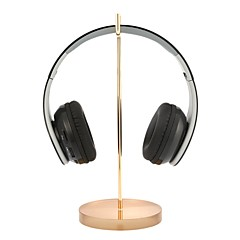 abordables Auriculares para Videojuegos-Soporte para auriculares universales Soporte para audífonos con base de acrílico Soporte para audífonos con estante de exhibición
