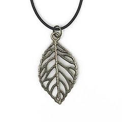 Муж. Жен. Ожерелья с подвесками В форме листа Сплав Природа По заказу покупателя Бижутерия Назначение Повседневные