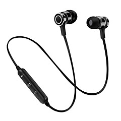 s6 In Ear Wireless Headphones Dynamic Plastic Sport & Fitness Earphone with Microphone with Volume Control Headset