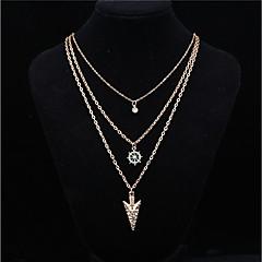 Жен. Ожерелья с подвесками Искусственный жемчуг В форме звезды анкер Сплав Базовый дизайн Мода Бижутерия Назначение Повседневные
