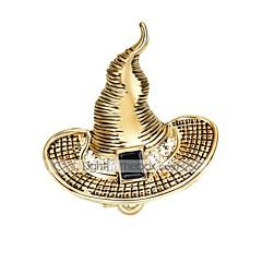 broszki damskie damskie bling bling chrismas biżuteria ze stopów cyrkonowych na imprezę świąteczną