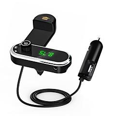 Недорогие Bluetooth гарнитуры для авто-cf1 car bluetooth phone phone phone mp3 mp3 fm передатчик aux приемник