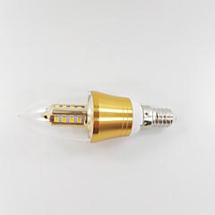 お買い得  LED 電球-650-700 lm E14 LEDキャンドルライト CA35 LEDビーズ SMD 装飾用 温白色 85-265 V / 1個 / RoHs / CCC