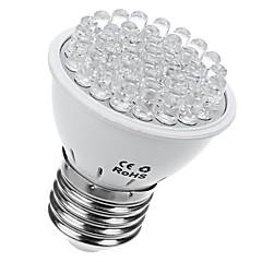 1pc 2w led kasvaa valo 38leds e27 kasvaa vaalea 10blue ja 28red kasvi lamppu ac110v / 220v