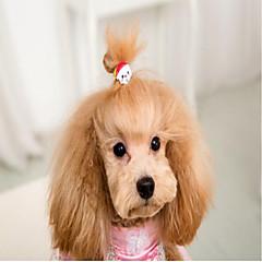 Kat Hund Hårtilbehør Hundetøj Fest Afslappet/Hverdag Bryllup Halloween Jul Nytår Dyr Tilfældig Farve Kostume For kæledyr
