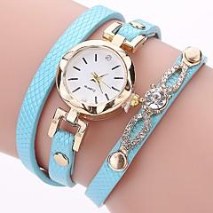 Mujer Reloj Casual Reloj de Moda Reloj Pulsera Simulado Diamante Reloj Chino Cuarzo La imitación de diamante PU Banda Casual Bohemio