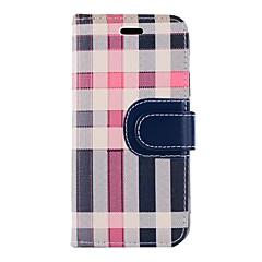 Недорогие Кейсы для iPhone 7-Кейс для Назначение Apple iPhone X iPhone 8 Бумажник для карт Кошелек со стендом Флип Чехол Полосы / волосы Твердый Текстиль для iPhone X