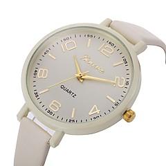 preiswerte Tolle Angebote auf Uhren-Damen Armbanduhr Chinesisch Chronograph / Wasserdicht Leder Band Freizeit / Böhmische / Modisch Schwarz / Weiß / Rot / Edelstahl / Ein Jahr / Sony 377
