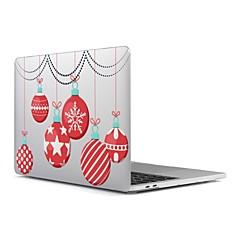 """MacBook ケース のために つや消し クリスマス プラスチック 材料 新MacBook Pro 15"""" 新MacBook Pro 13"""" MacBook Pro 15インチ MacBook Air 13インチ MacBook Pro 13インチ MacBook Air"""