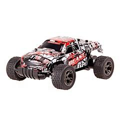 Coche de radiocontrol  2811 2.4G Alta Velocidad 4WD Drift Car Buggy Todoterreno Carro de Carreras 1:20 * KM / H Control remoto Recargable