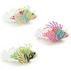 tanie -Dekoracja Aquarium Sztuczna ryba Silikonowy