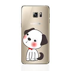 tanie Galaxy S6 Edge Etui / Pokrowce-Kılıf Na Samsung Galaxy S8 Plus S8 Wzór Etui na tył Pies Miękkie TPU na S8 S8 Plus S7 edge S7 S6 edge plus S6 edge S6