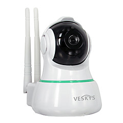 halpa IP-kamerat-VESKYS 2mp IP Camera Indoor with IR-suodatin 128GB / PTZ / Johto / CMOS / Langaton / Dynamic IP address