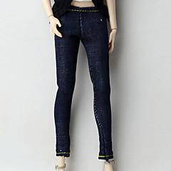 abordables Ropa para Barbies-Pantalones Pantalones, Pantalonetas y Licras por Muñeca Barbie  Azul Marino Oscuro Tejido de Oxford Pantalones por Chica de muñeca de