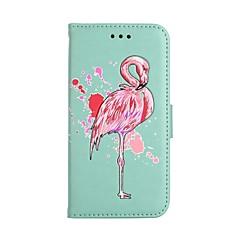 Funda Para Samsung Galaxy S8 Plus S8 Cartera Soporte de Coche con Soporte Flip Diseños Cuerpo Entero Flamenco Dura Cuero Sintético para