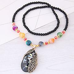 Жен. Ожерелья с подвесками Свисающие Резина Сплав европейский Мода Бижутерия Назначение Повседневные